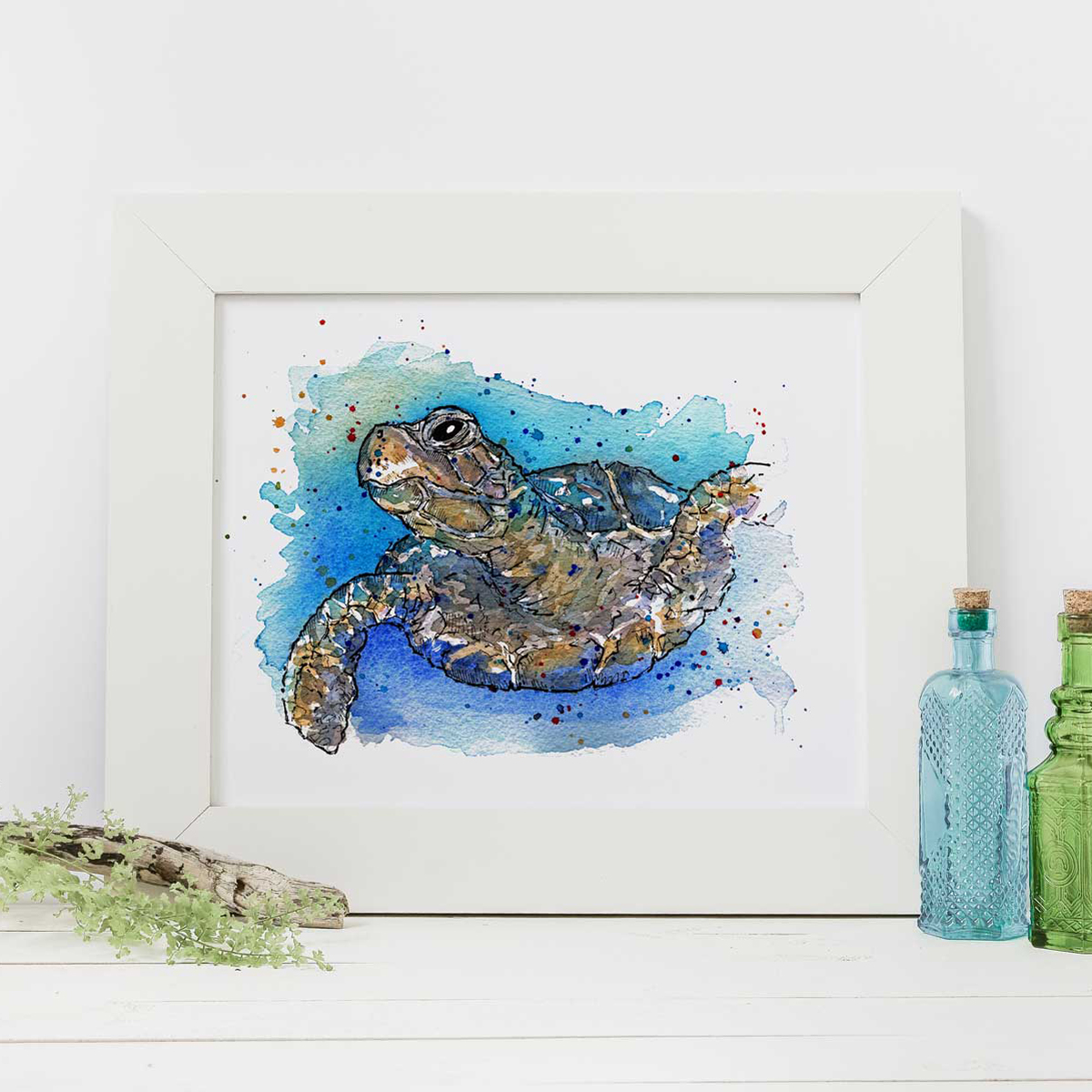 Shell Yeah Print Handmade Prints And Greeting Cards In Devon Cornwall